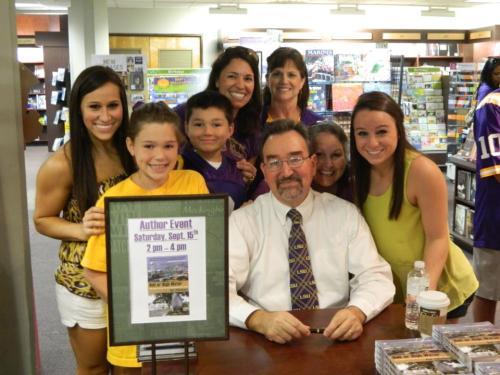 LSU book signing
