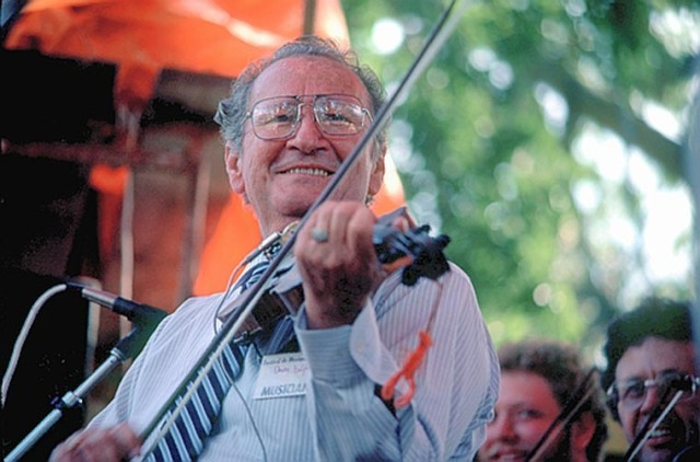 Cajun fiddle legend and cultural ambassador Dewey Balfa (1927-1992).
