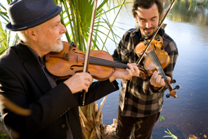 Fiddlers David Greely and Joel Savoy formed GreelySavoyDuo.
