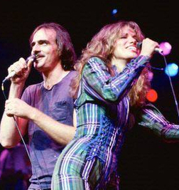 James Taylor and Carly Simon, who were married from 1972 to 1983.