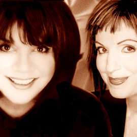 Linda Ronstadt and Ann Savoy
