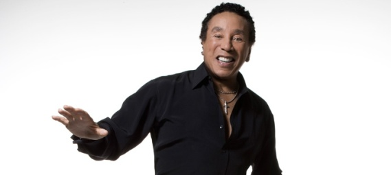 Smokey Robinson: Motown living legend.